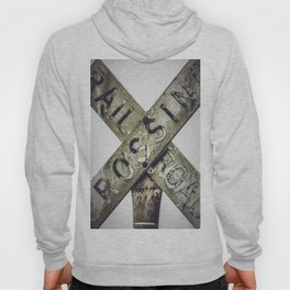 Railroad Crossing Hoody