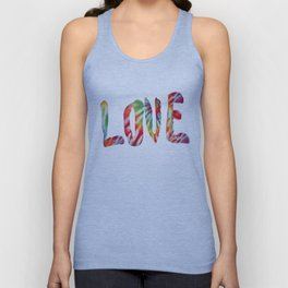 A Fractal of Love Unisex Tank Top