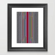 Sorted Framed Art Print