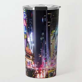 New York City Night Travel Mug