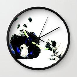 Pug and Panda Wall Clock