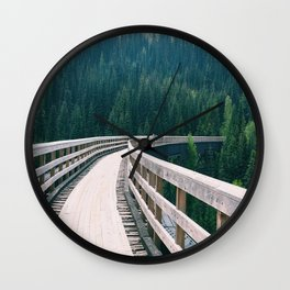 Kettle Valley Forest Wall Clock