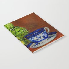 Teacup with Artichokes Notebook