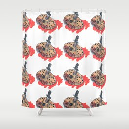 Jason Voorhees - Friday The 13th Shower Curtain