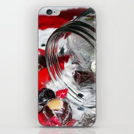 Christmas Candy Jar iPhone Skin