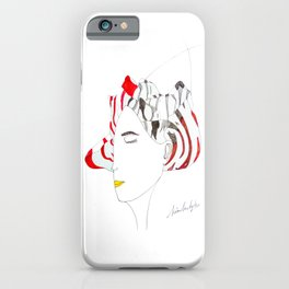 the introverted extravert iPhone Case