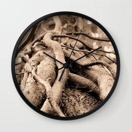 Nature Shows No mercy Wall Clock