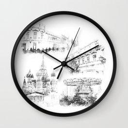 Moscow ,Kremlin Wall Clock