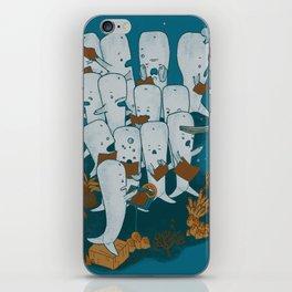 Whale songs iPhone Skin