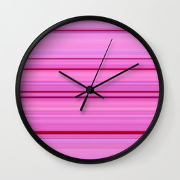 Lavender & Ruby Wall Clock