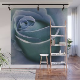 for the usual designers: another winter rose Wall Mural