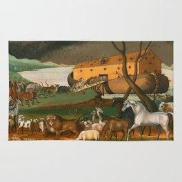 Noahs Ark by Edward Hicks, 1846 Rug