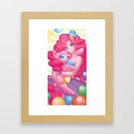 Pinkie pie Framed Art Print