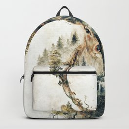 Deer Surrealism Backpack