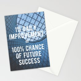Motivational - 100% Chance of Success Stationery Cards