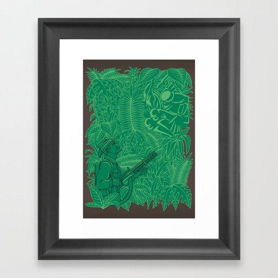 Time to Bleed Framed Art Print