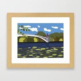 Insel der Jugend Framed Art Print