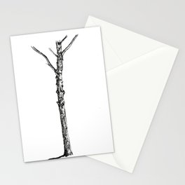 Tree and Shadow Stationery Cards