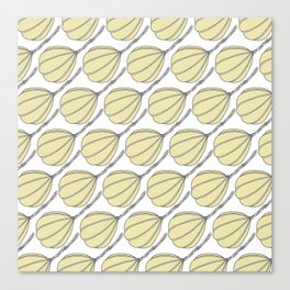 Provolone (cheese pattern) Canvas Print
