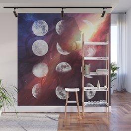 Moon Goddess Selene Wall Mural
