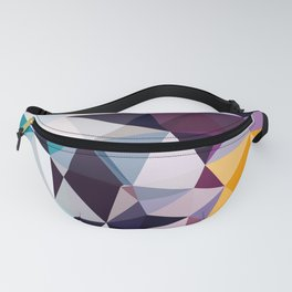 Abstract Geometric Art Colorful Design Fanny Pack