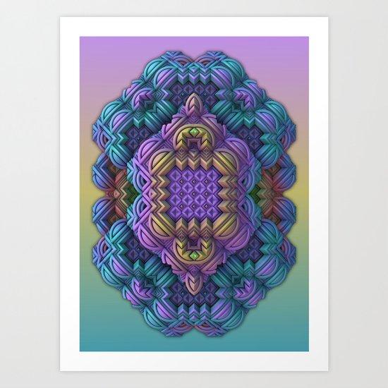 Pandora Talisman Art Print