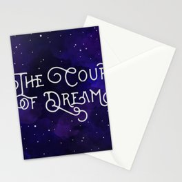 The Court of Dreams - A Court of Mist and Fury by Sarah J. Maas Stationery Cards