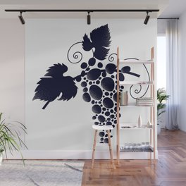 Bunch of grapes Wall Mural