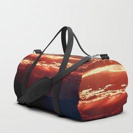 Burning Southern Setting Sun Duffle Bag