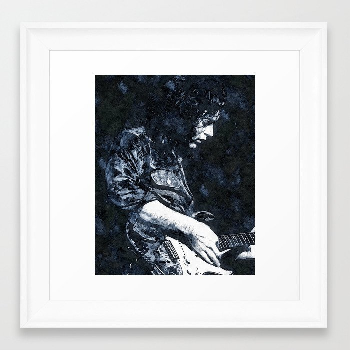 Guitar Legend 1 Framed Art Print