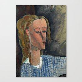 "Amedeo Modigliani ""Beatrice Hastings"", 1916 Canvas Print"