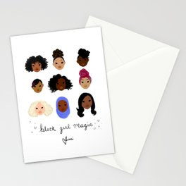 Black Girl Magic (looks) Stationery Cards