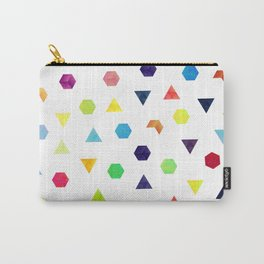 Random Geometry Carry-All Pouch
