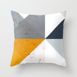 Modern Geometric 17/2 Throw Pillow