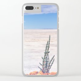 Lake Grace 2 Clear iPhone Case