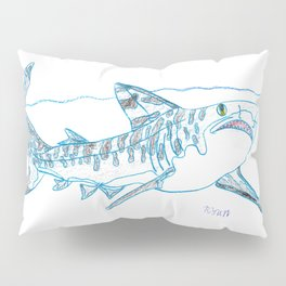 Tiger Shark II Pillow Sham