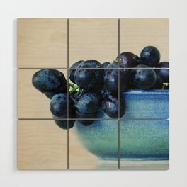 Grapes Wood Wall Art