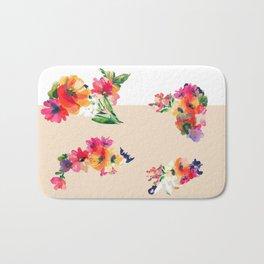 Flower Cut Outs Bath Mat