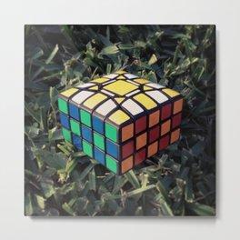 3x5x5 Cuboid Metal Print