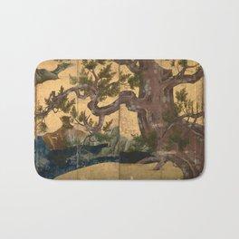 Kano Eitoku Cypress Trees Bath Mat
