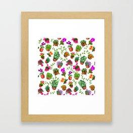 Miami Garden Framed Art Print