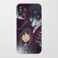 coraline iPhone & iPod Cases featuring Coraline by Phil Vazquez