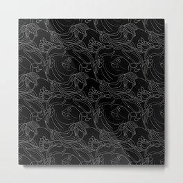 Beijaflorando Metal Print