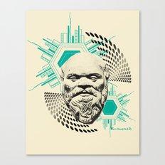 Socrates! Canvas Print