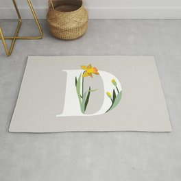 D for Daffodil Rug