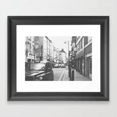 London scene Framed Art Print