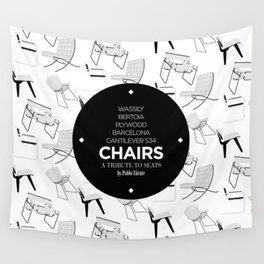 CHAIRS - A tribute to seats (special edition) Wall Tapestry