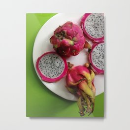 Dragon Fruit Metal Print