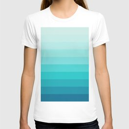 TURQUOISE GRADIENT T-shirt