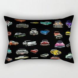 Car Cluster Rectangular Pillow